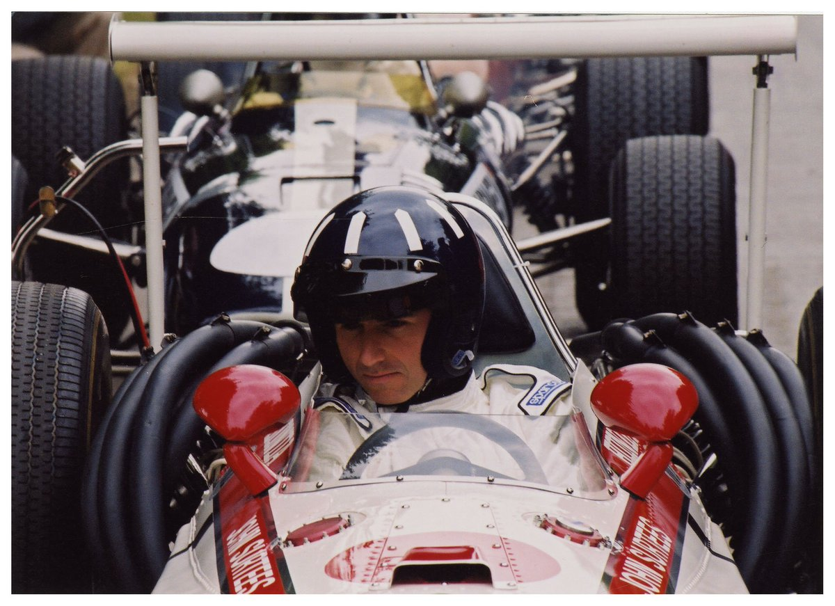 Looking good in that Honda RA301 @HillF1! #FOS
