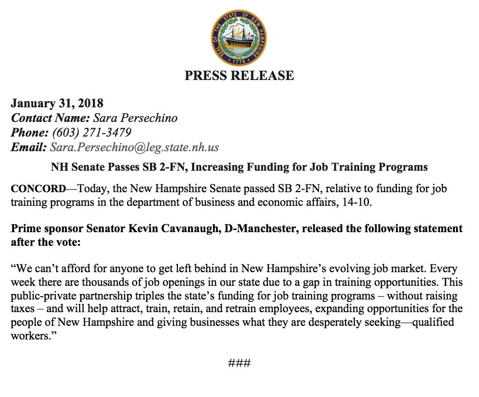 NH Senate Democrats on Twitter: