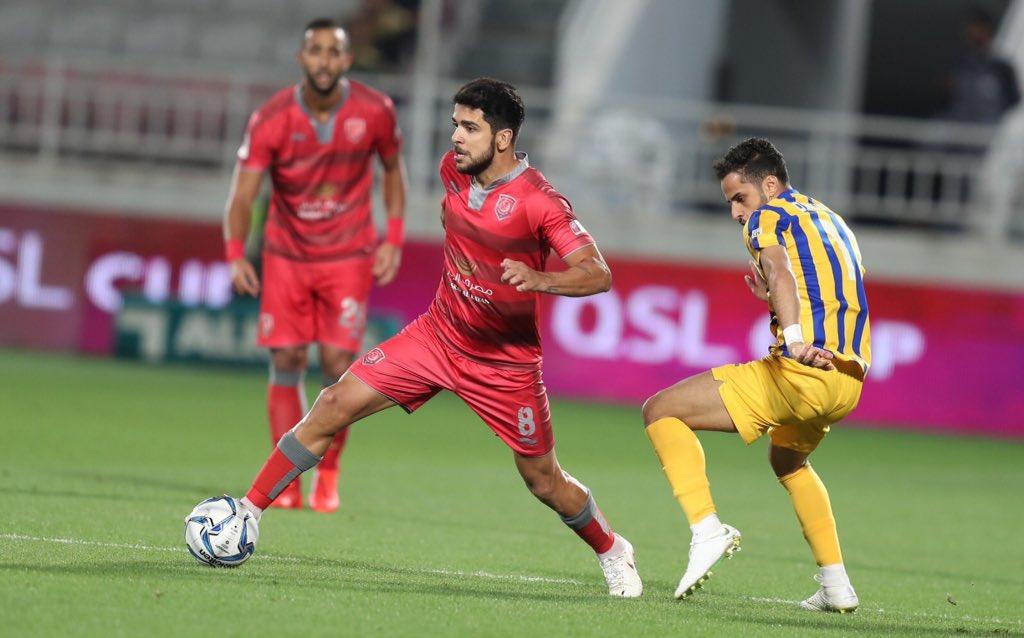 مجيد بوقرة يخسر نهائي كأس قطر امام نادي الغرافة 26