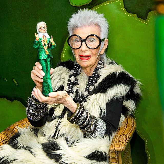 Luxury Next Season On Twitter Big Congratulations To Iris Apfel Who Is Our Greenaddicted Maximalist Fashion Icon Iris Apfel The 97 Year Old Businesswoman Interior Designer And Tastemaker Has Been Signed By Imgmodels For Worldwide