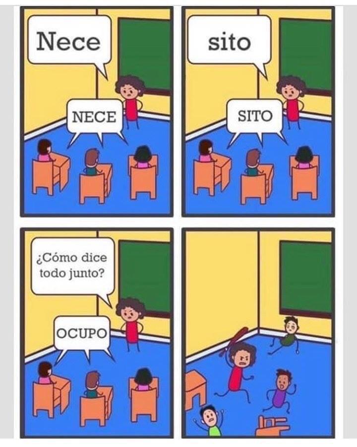 """Fabián Muñoz on Twitter: """"Soy la maestra y nunca me había sentido tan identificado con un meme.… """""""