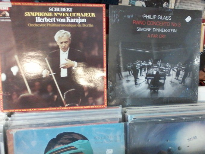 Happy Birthday to the late Franz Schubert & Philip Glass