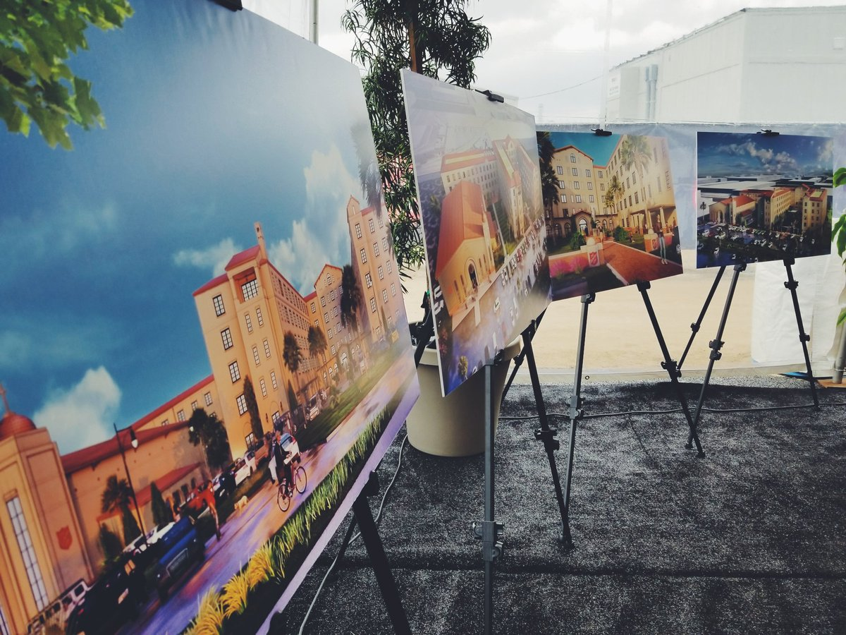 """This represents the beginning of a larger """"City of Hope"""" project, a planned 600 unit @SalvationArmyOC facility."""