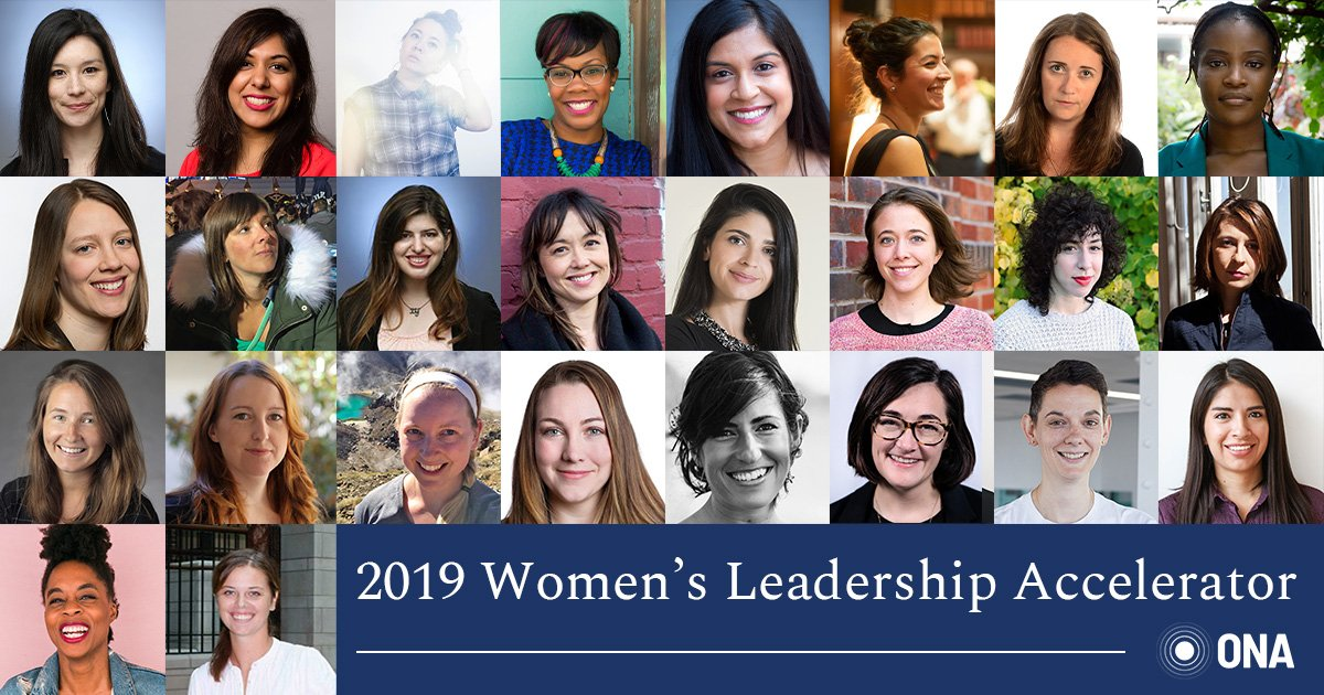 We are so excited to announce the 26 women selected for the 2019 Women's Leadership Accelerator. Please join us in congratulating this outstanding group! http://bit.ly/ONAWLA-2019cohort …  #ONAWLA