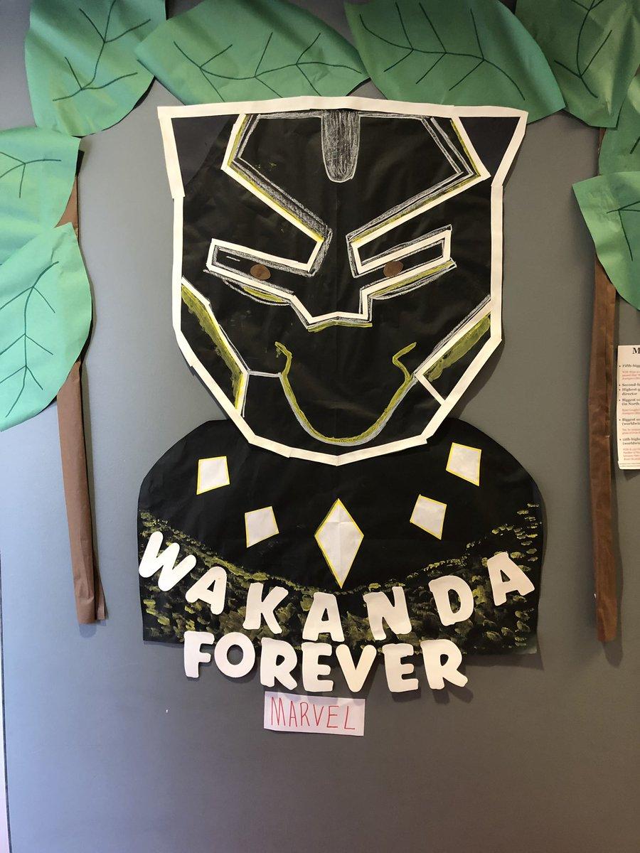 18 Impressive Classroom Doors Teachers Decorated in Celebration of Black History Month