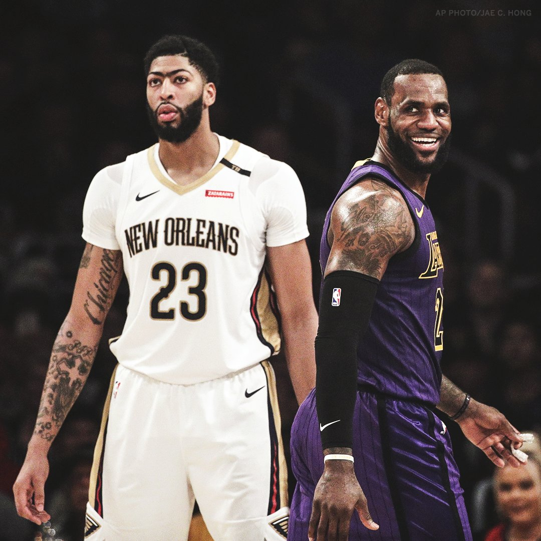 Anthony Davis' plan is to to treat any trade destination as a one-year stop, unless it's the Lakers, sources tell @WojVerticalN@ZachLowe_NBABA and . He would plan to move to the Lakers as a free agent in 2020.