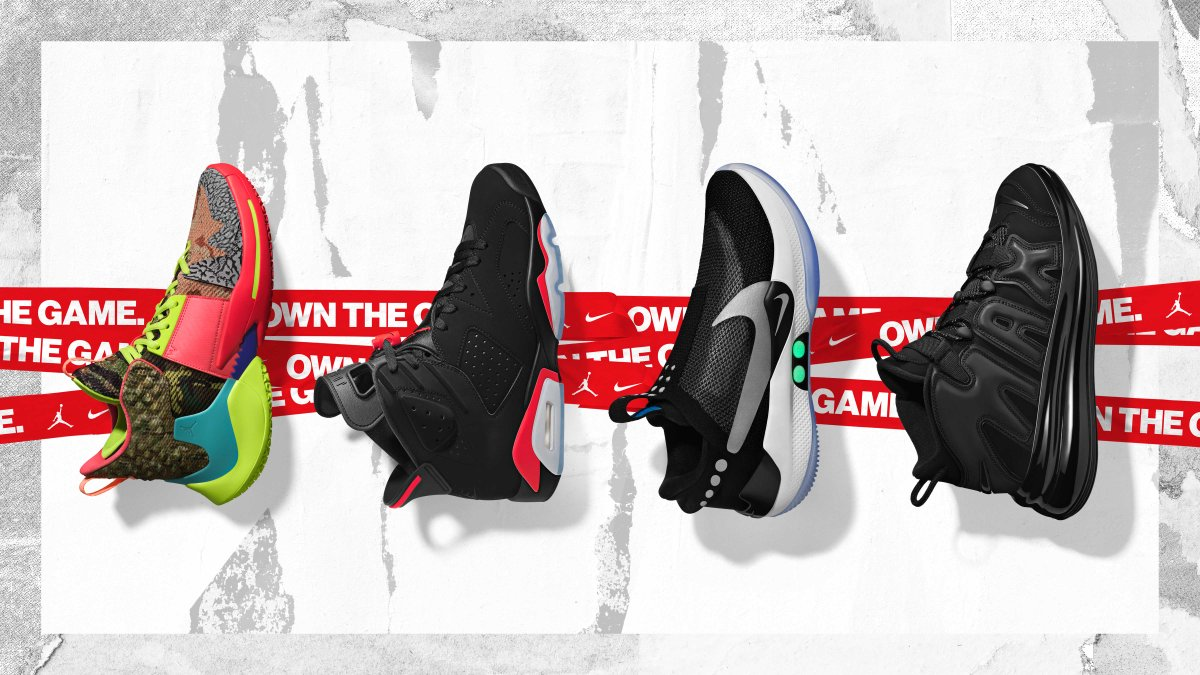 Nike and Jordan Brand unveil 2019 NBA All-Star Sneaker Collection  https   a6f54d41ec32