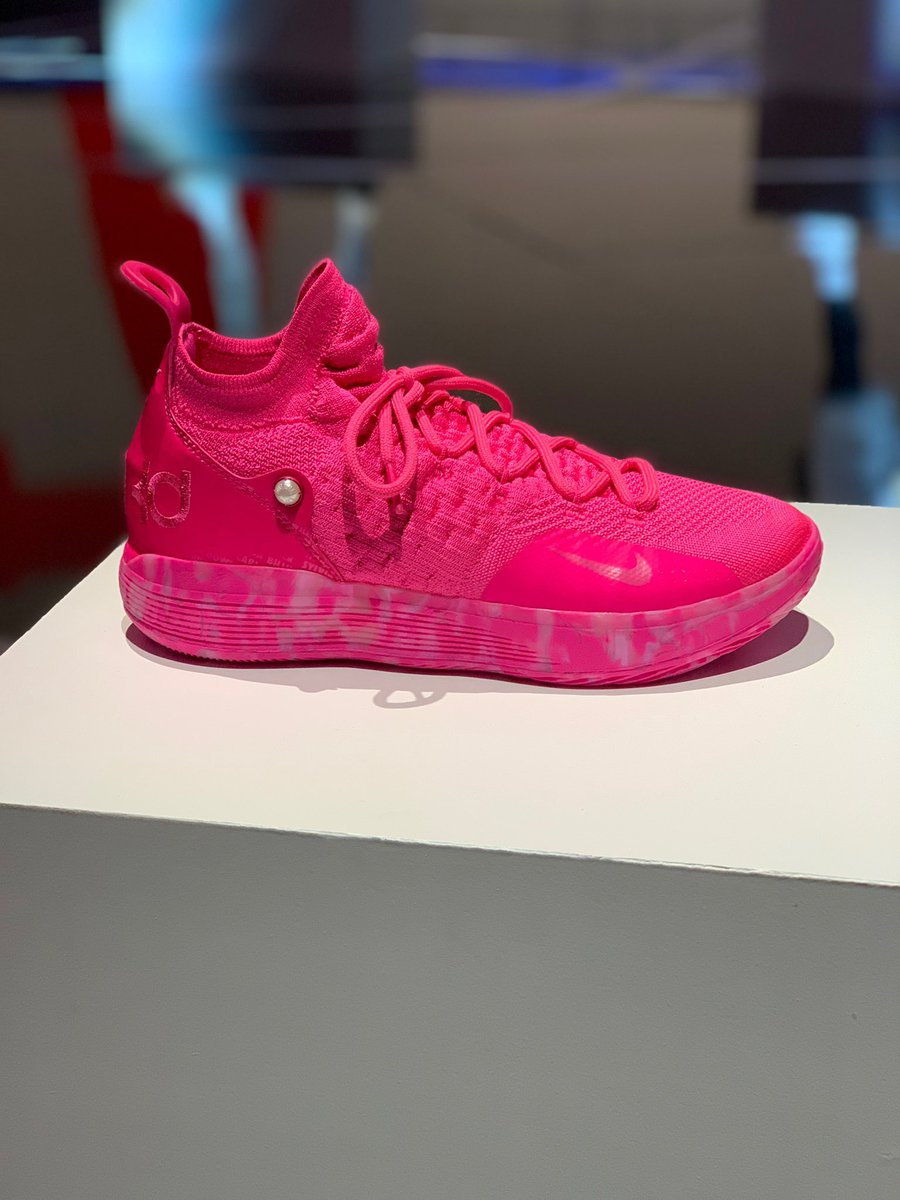wholesale dealer ad0c0 60b35 created in partnership with the aunt pearl nike kd 11 highlights the names  of 59 cancer