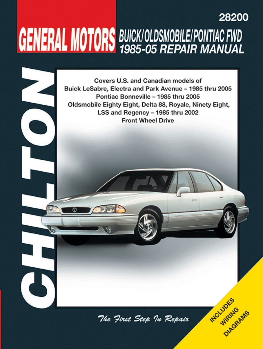 buick lesabre, electra & park ave, pontiac bonneville, oldsmobile 88,  98, & lss (does not include diesel, supercharged, or v8 engine) #mychilton