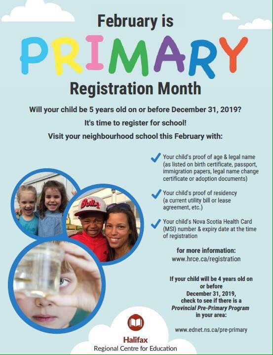 February is Registration Month!