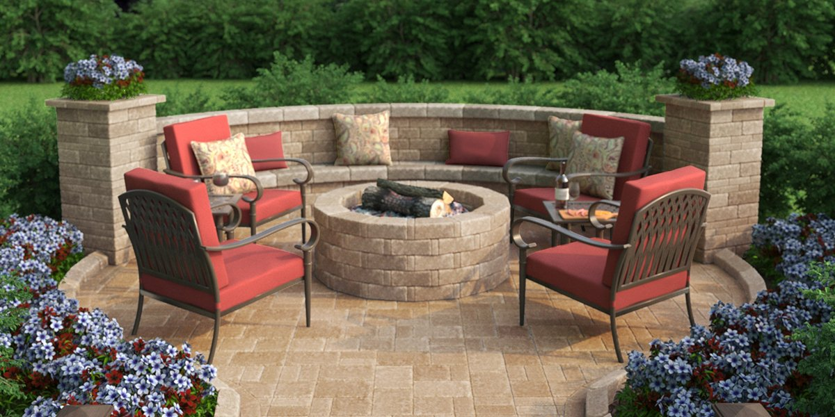 The Home Depot On Twitter Build A Fire Pit Using Patio Pavers For A Quick Simple Backyard Upgrade Watch Our Video To Learn How Https T Co Bv9zwpnmf5 Https T Co Gjpp1qynwv