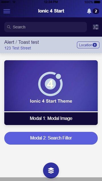 Ionic 3 Restaurant App Github
