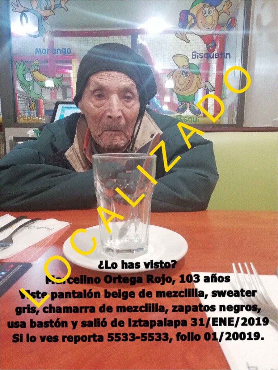 Se desactiva #AlertaPlateada pues Don Marcelino ha sido #LOCALIZADO Muchas gracias por su apoyo y RTs. #Iztapalapa #CiudaddeMéxico