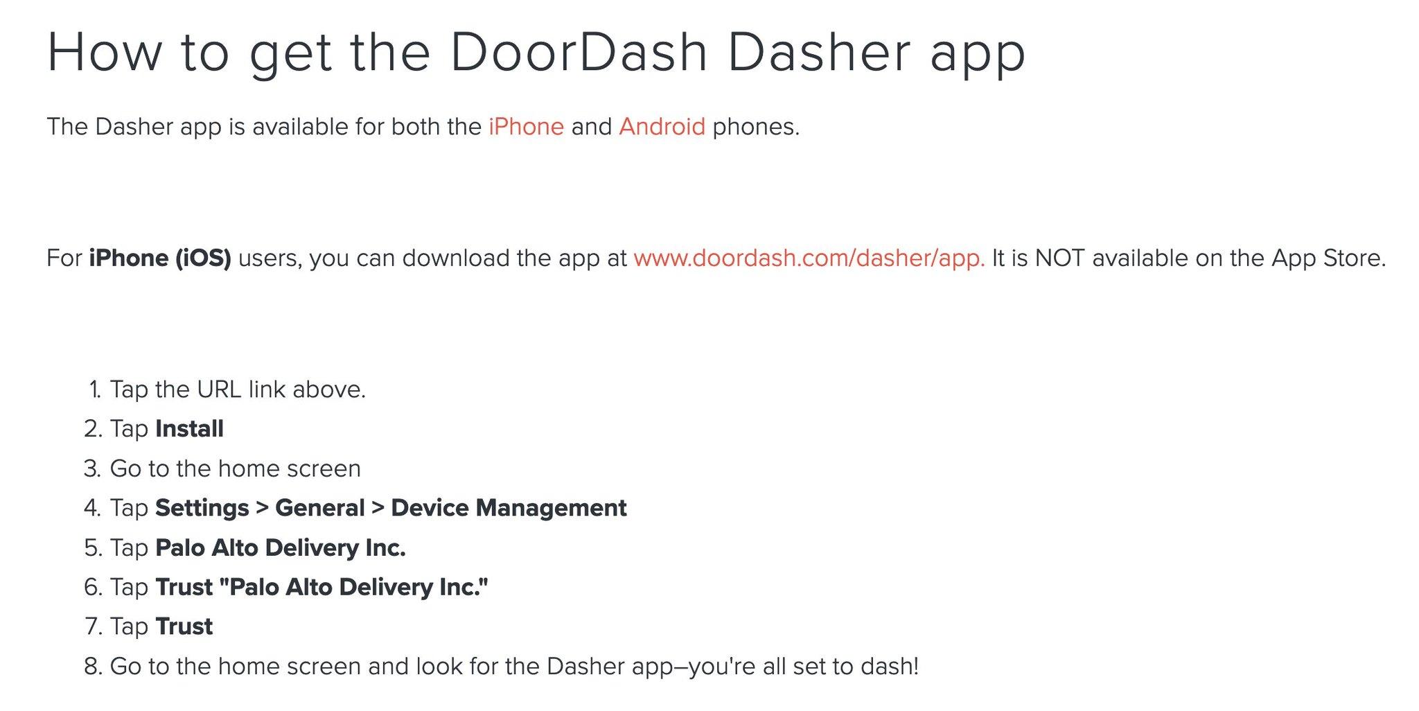 Door Dash Palo Alto