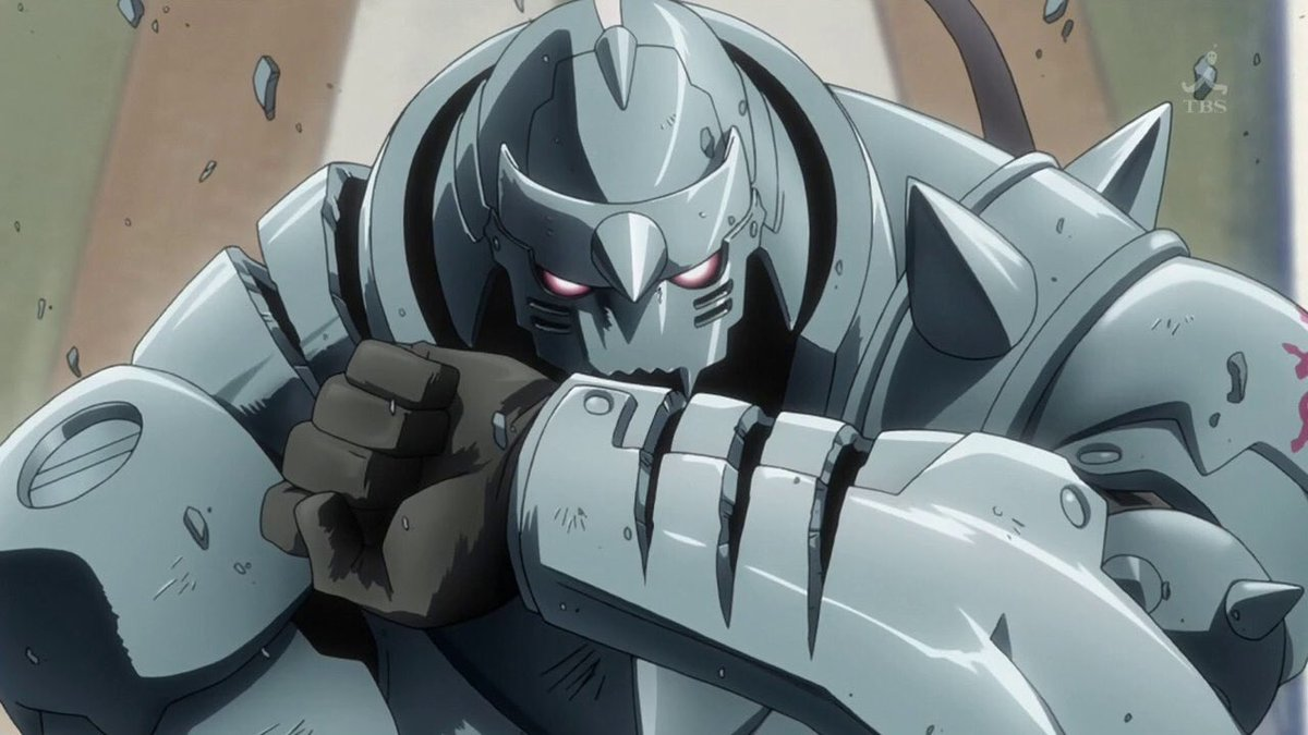 I love how Alphonse is either drawn like this or like this with no in between