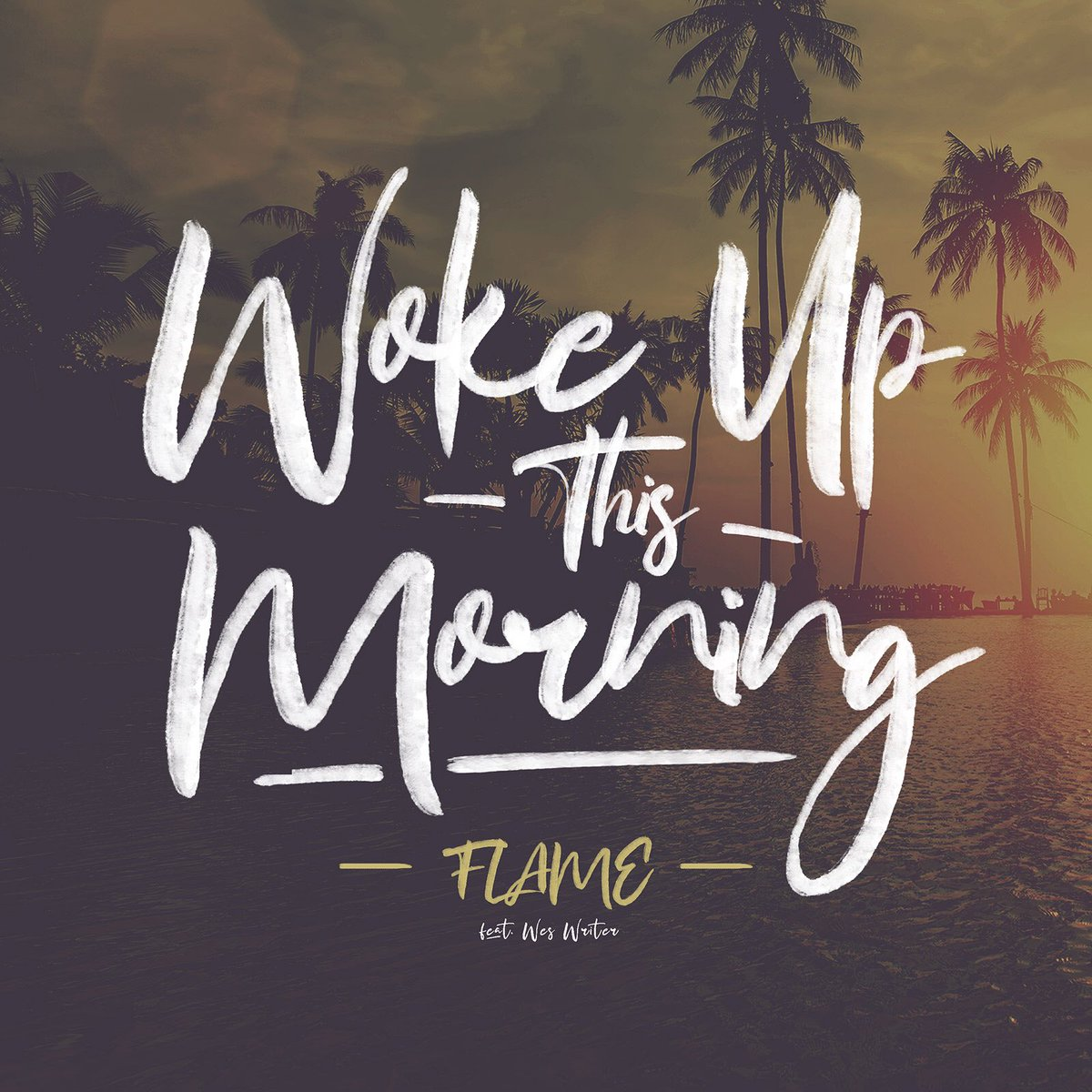 "🚨New Single Available NOW🚨 ""Woke Up This Morning feat. @WesTheWriter"" available on all digital outlets! Thx to all who chimed in to the livestream! I love y'all!  We fam 4L!"