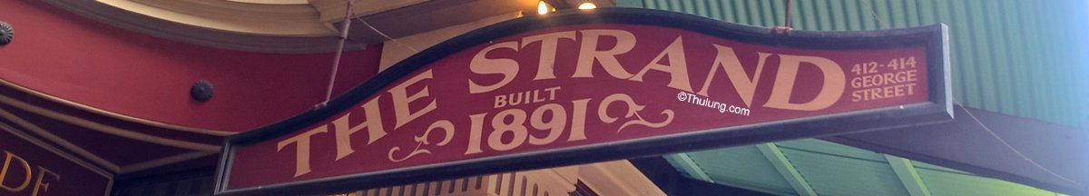 The Strand Arcade, Pitt St Mall