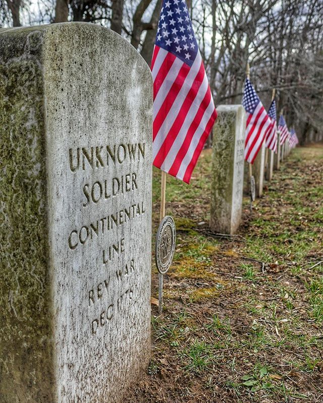 From the parking area at the Thompson-Neely House, it's a short walk across the Delaware Canal to the memorial cemetery where an unknown number of Continental soldiers who died during the December 1776 encampment in Bucks County are buried.