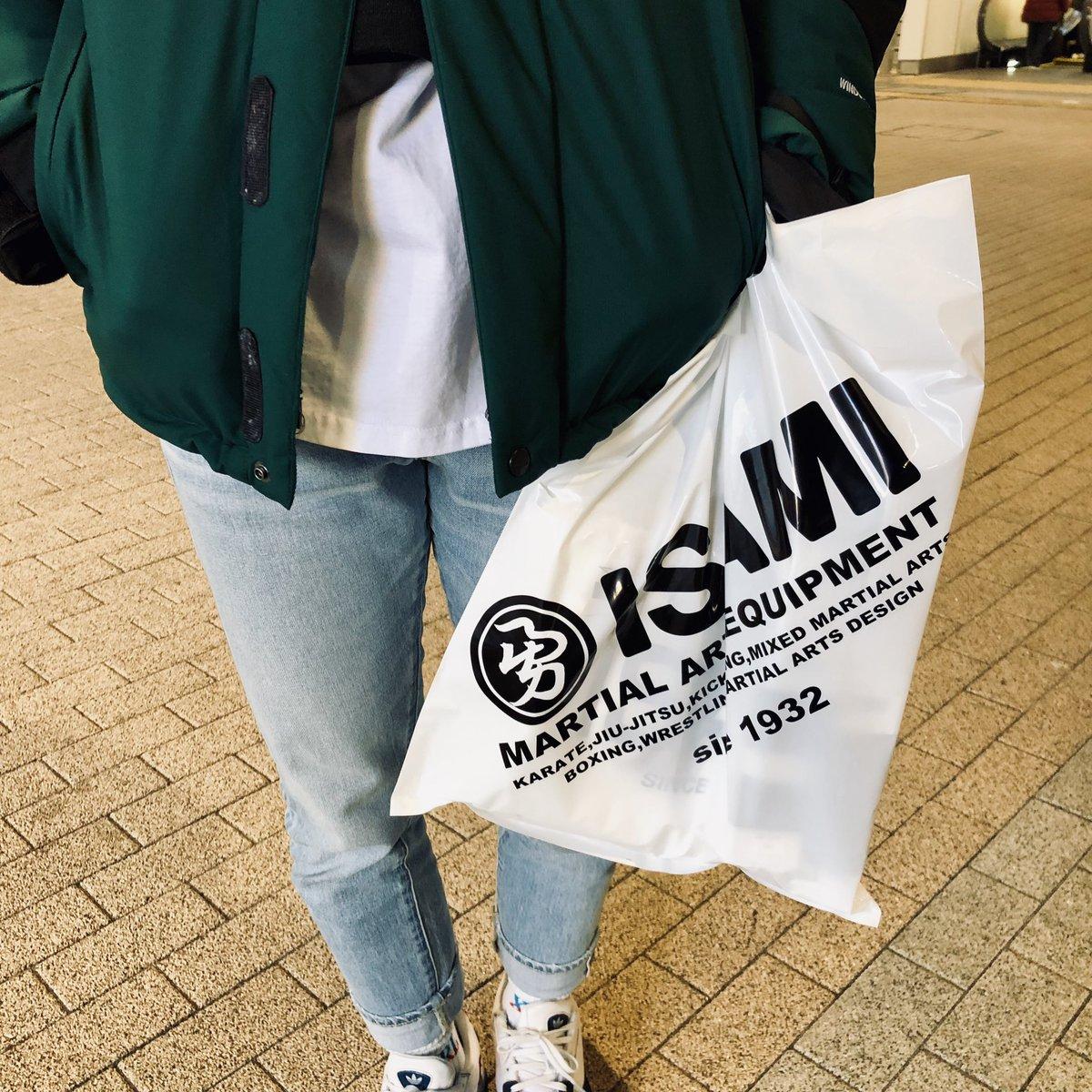 東京イサミでお買い物。#東京イサミ