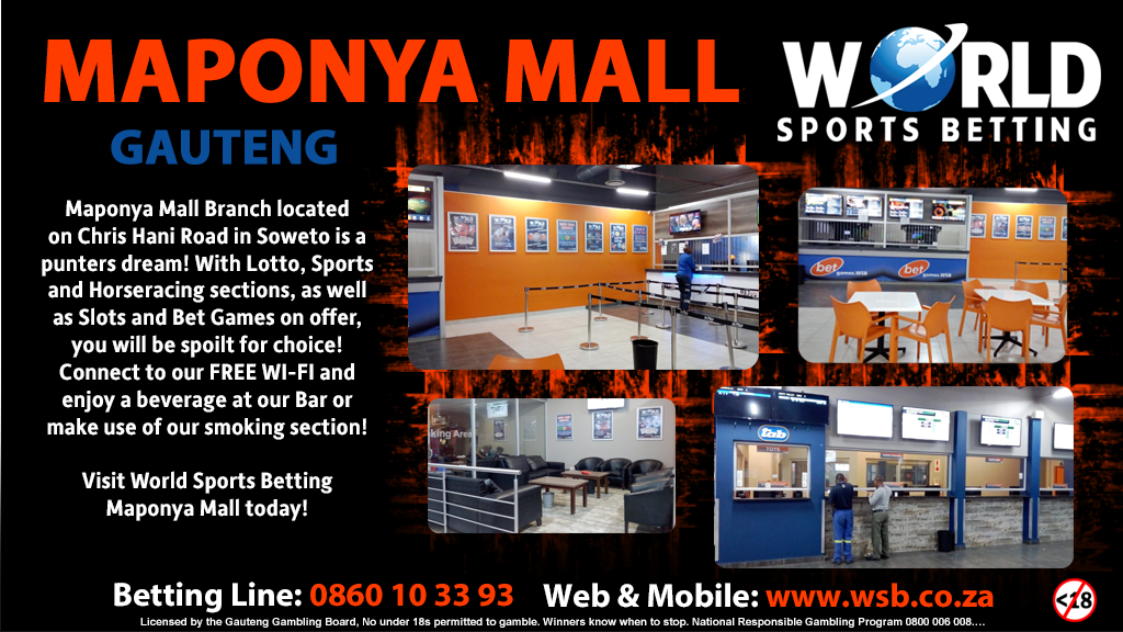 World sport betting maponya mall map betting with an edge