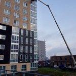 Vandaag zoeken wij het hogerop! #gevelherstel #lekkage #Amsterdam