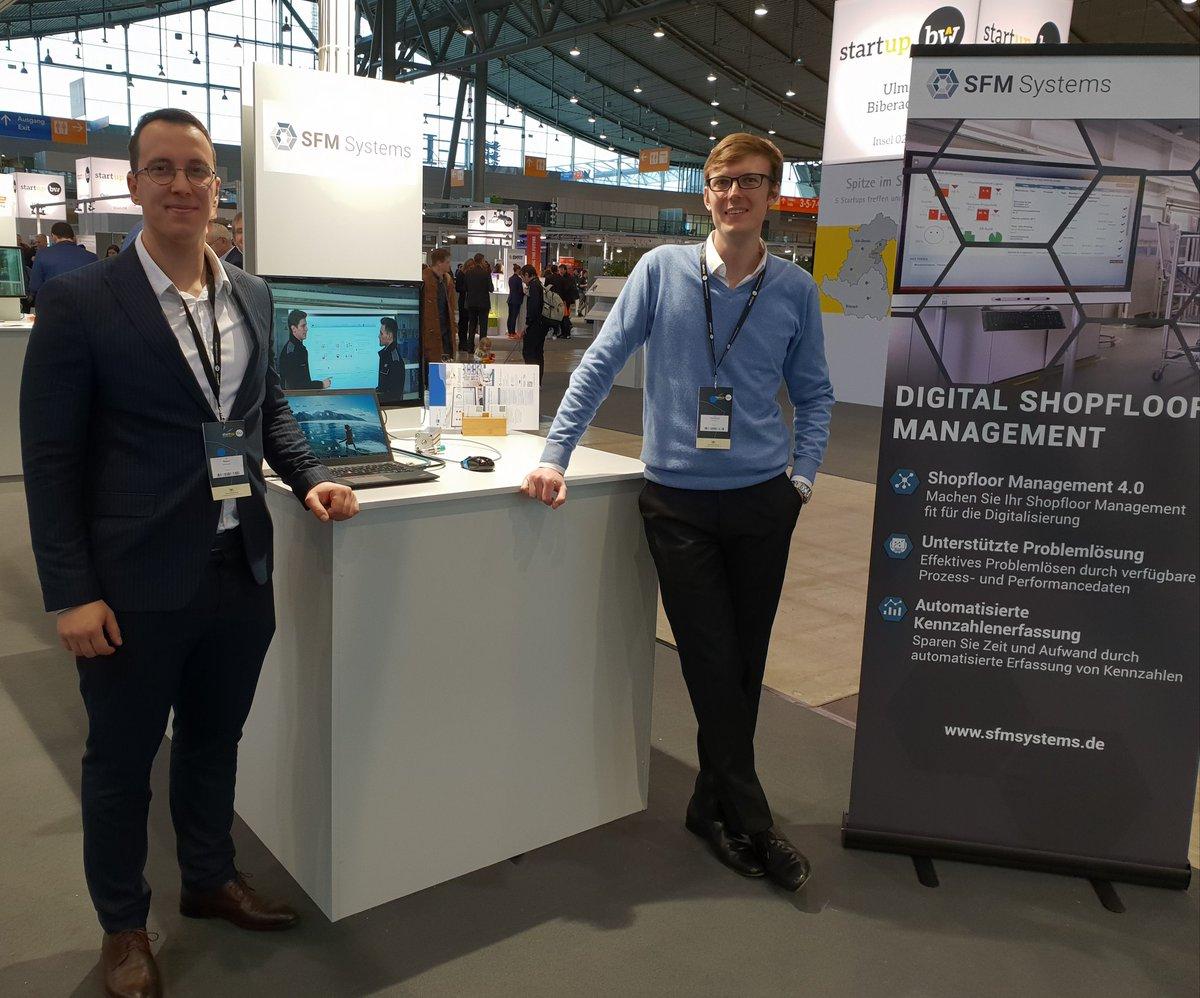 Besucht uns auf dem @Startup_Bw Summit in Stuttgart und wir zeigen wie man mithilfe von #digitalem #Shopfloormanagement  die Unternehmensprozesse in der Produktion #Lean gestalten kann. @Messe_Stuttgart @JensaHam