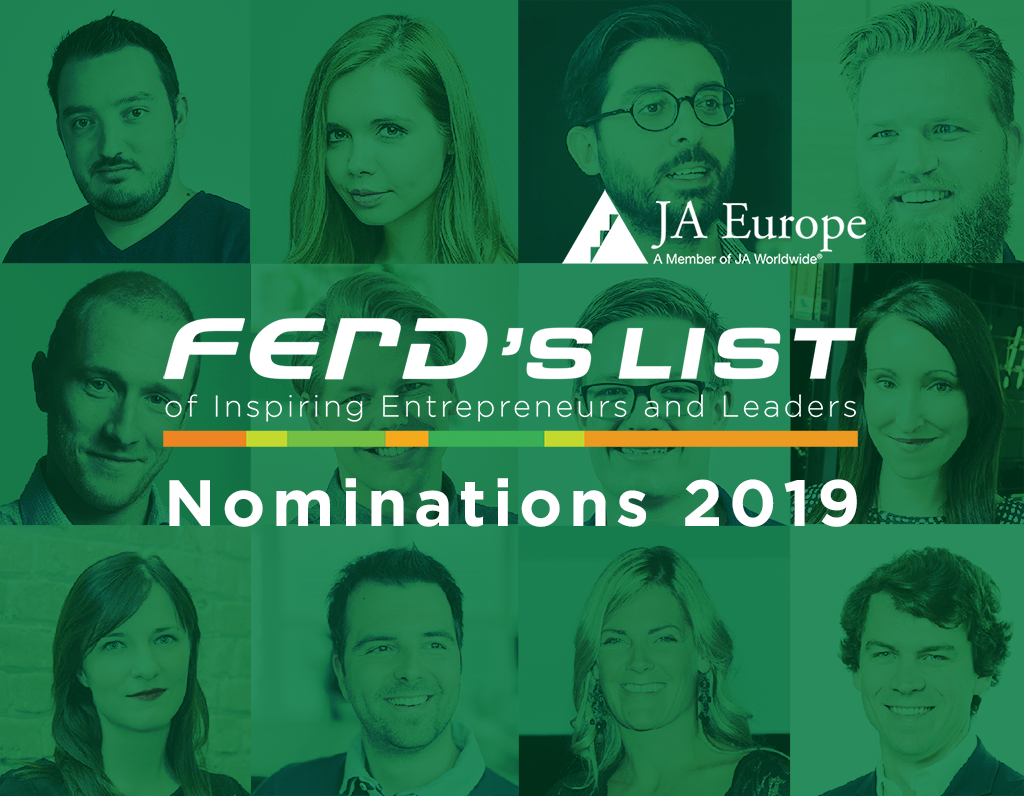 ⚠️WANTED: inspiring and succesful #JAAlumni in Europe to apply for #FERDLIST 2019! #SwitchOnEurope #youngentrepreneurs #youngleaders #givingback  Learn more: https://t.co/mxMZyvyyG9