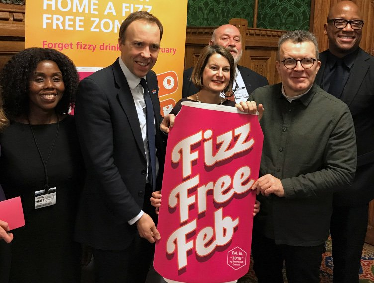 It's the first day of #FizzFreeFeb and from Sandwell to Barnsley, Kent to Newcastle, Northampton to Lancashire people are pledging to #GoFizzFree