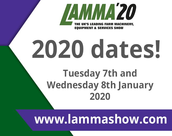 Make sure you join us when #LAMMA20 returns to the NEC! Sign up to our newsletter to find out the latest http://ow.ly/ffDK30nkRS0