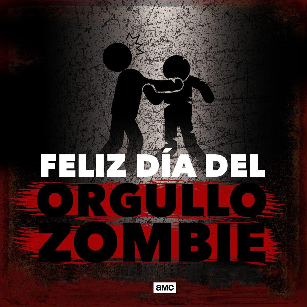 ¡Feliz día del orgullo zombie!  #Orgullozombie
