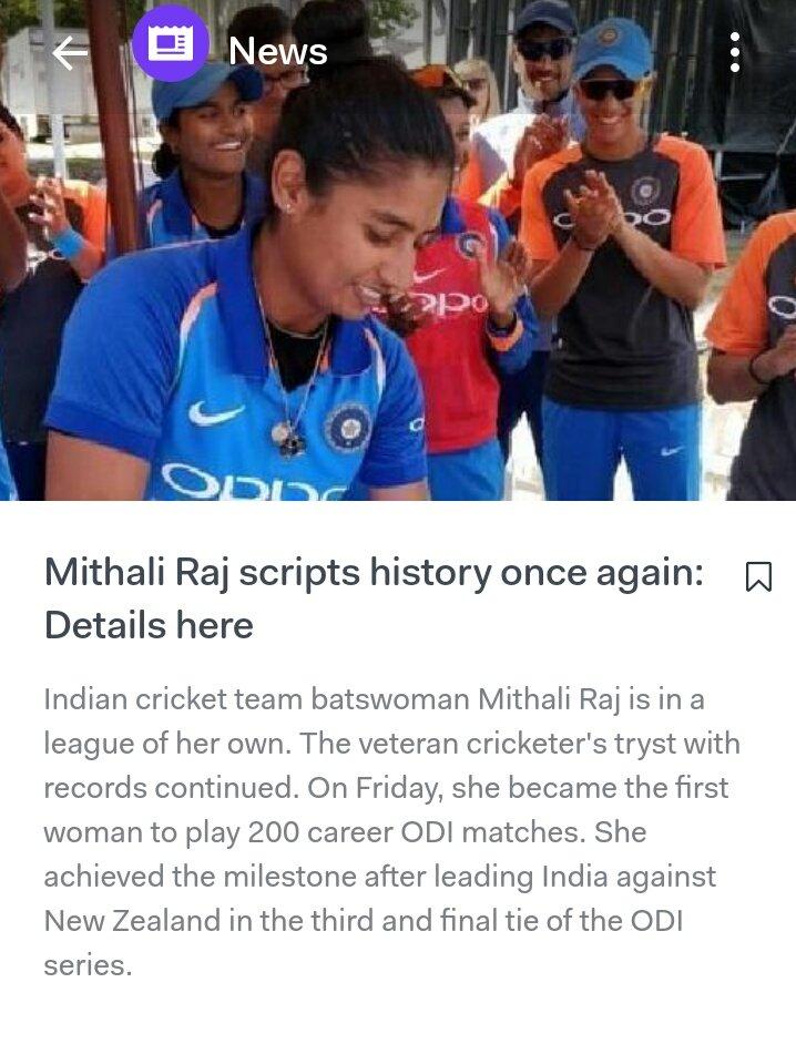 Our pride @M_Raj03 #batswoman #MithaliRaj #woman #IndianCricketTeam @BleedBlue4India @TeamIndiaWomen salaam to you #salaamsurat #ODI series #indiavsnewzealand #IndiavsNZ Woman in cricket