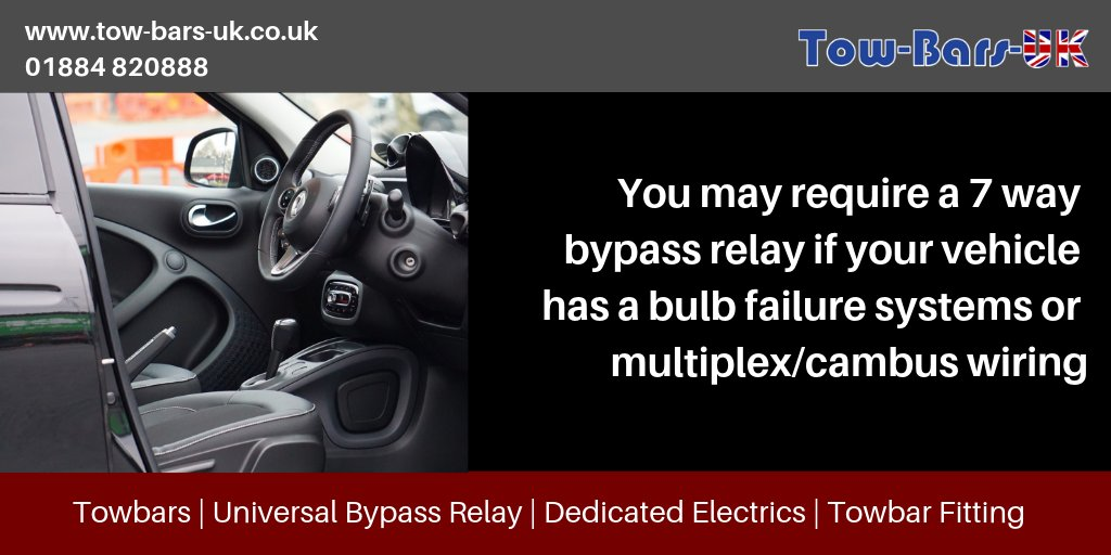 Awesome Towbars Uk On Twitter Do You Know If You Need A Universal Bypass Wiring Digital Resources Sapredefiancerspsorg