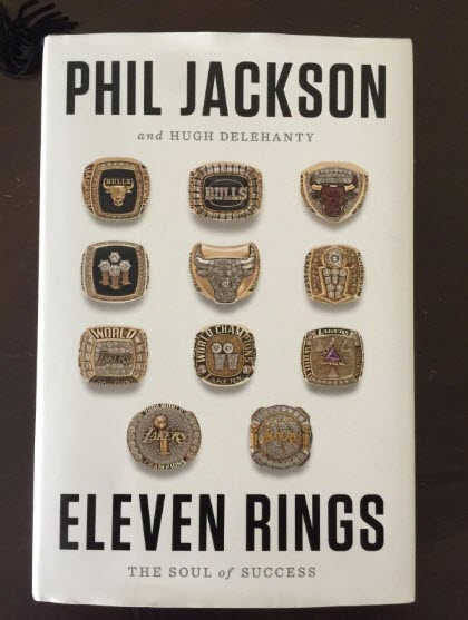 For #Day7, I have a definite #MustRead! Eleven Rings: The Soul of Success by @PhilJackson11!!