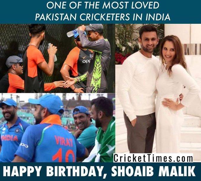 Happy Birthday, Shoaib Malik