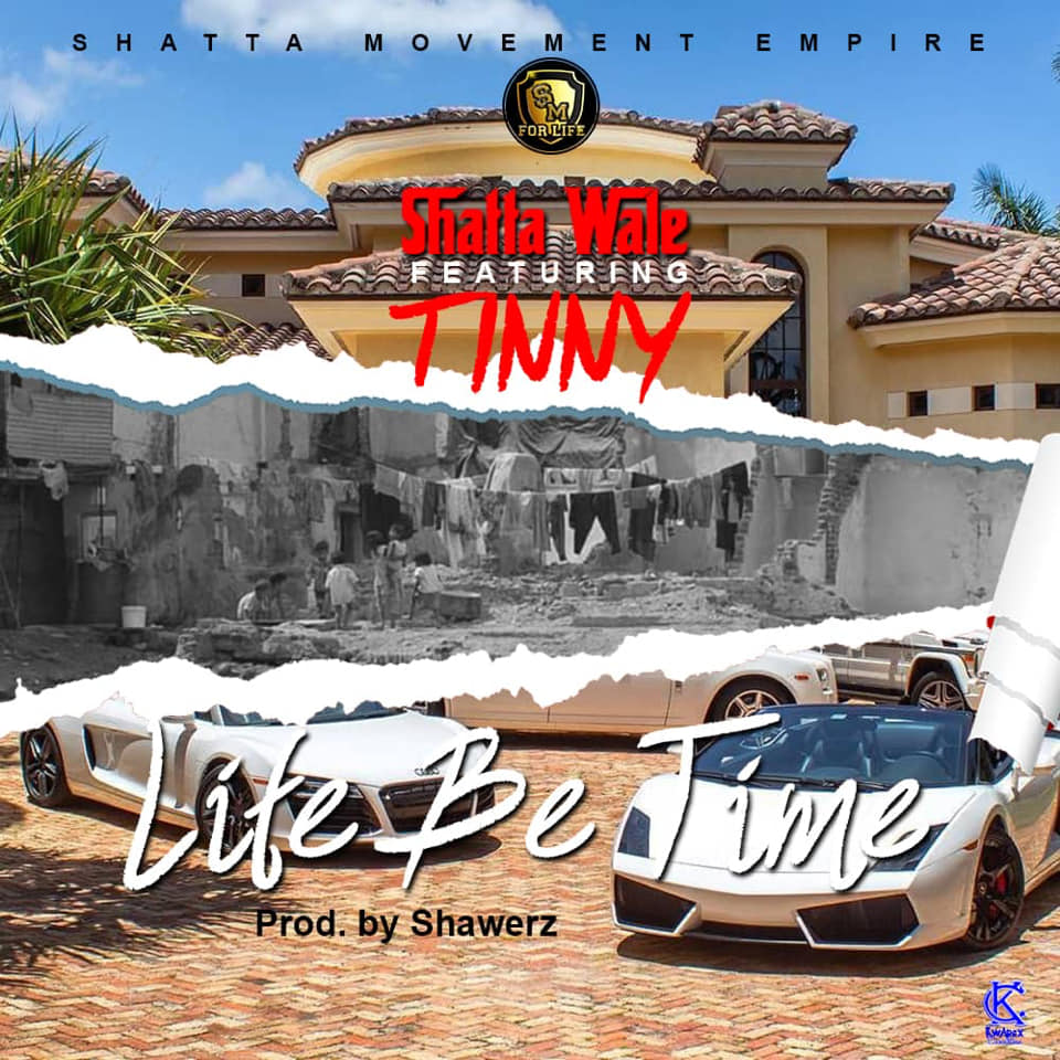"""DOWNLOAD NOW !! SHATTA WALE X TINNY - LIFE BE TIME...PROD BY SHAWERZ http://www.mediafire.com/file/b2tjtj9tys4d2ly/Shatta_wale_x_Tinny_-_Life_be_time_..prod_by_shawerz_1_Master.mp3/file…  WATCH OUT FOR MY NEXT ALBUM """"WONDERBOY"""""""