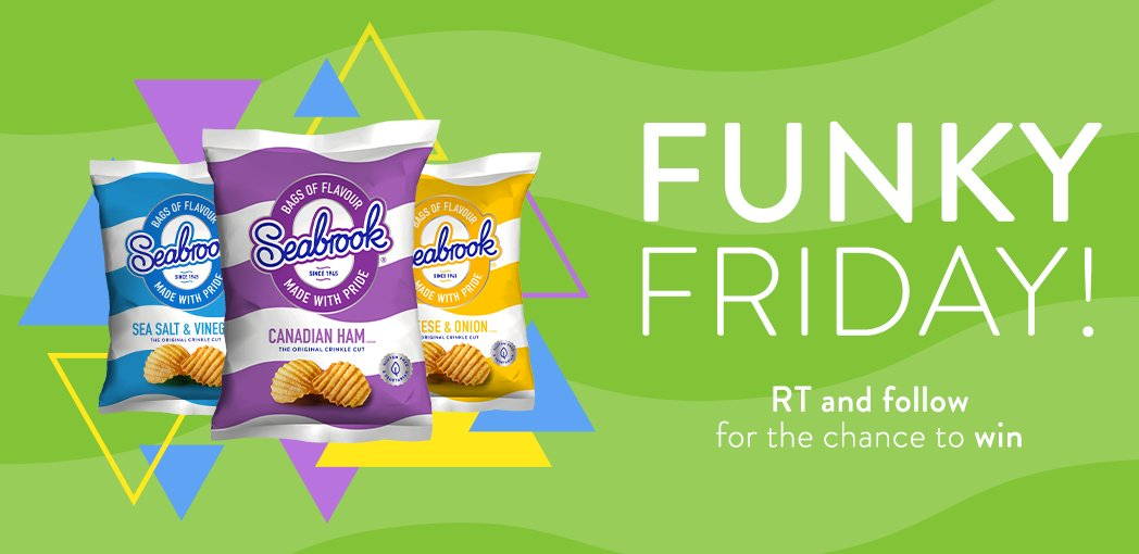 It's Funky Friday! #RT & Follow for the chance to #win a box of crisps!  (UK Only) #fridayfeeling