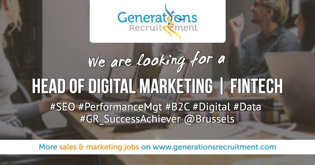 We are looking for a HEAD OF DIGITAL MARKETING I FinTech  Apply Now ! https://bit.ly/2Bg1kbp  #SEO #Marketing #B2C #digital #data #successachiever #Brusselspic.twitter.com/hJhodV0HCE