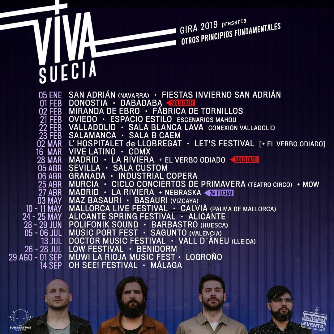 """VIVA SUECIA  """"El Milagro"""" Nuevo disco el 4 de Octubre. - Página 7 DyUJfl2XcAAnRQ3"""