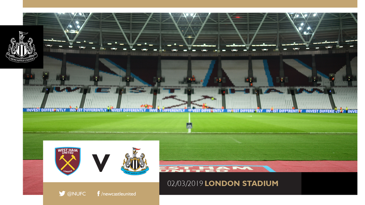 🎟️ Tickets for Newcastle United's trip to @WestHamUtd next month are now sold out. Thank you for your wonderful support!  👉🏽 https://www.nufc.co.uk/news/latest-news/west-ham-a-ticket-news-18-19 … #NUFC