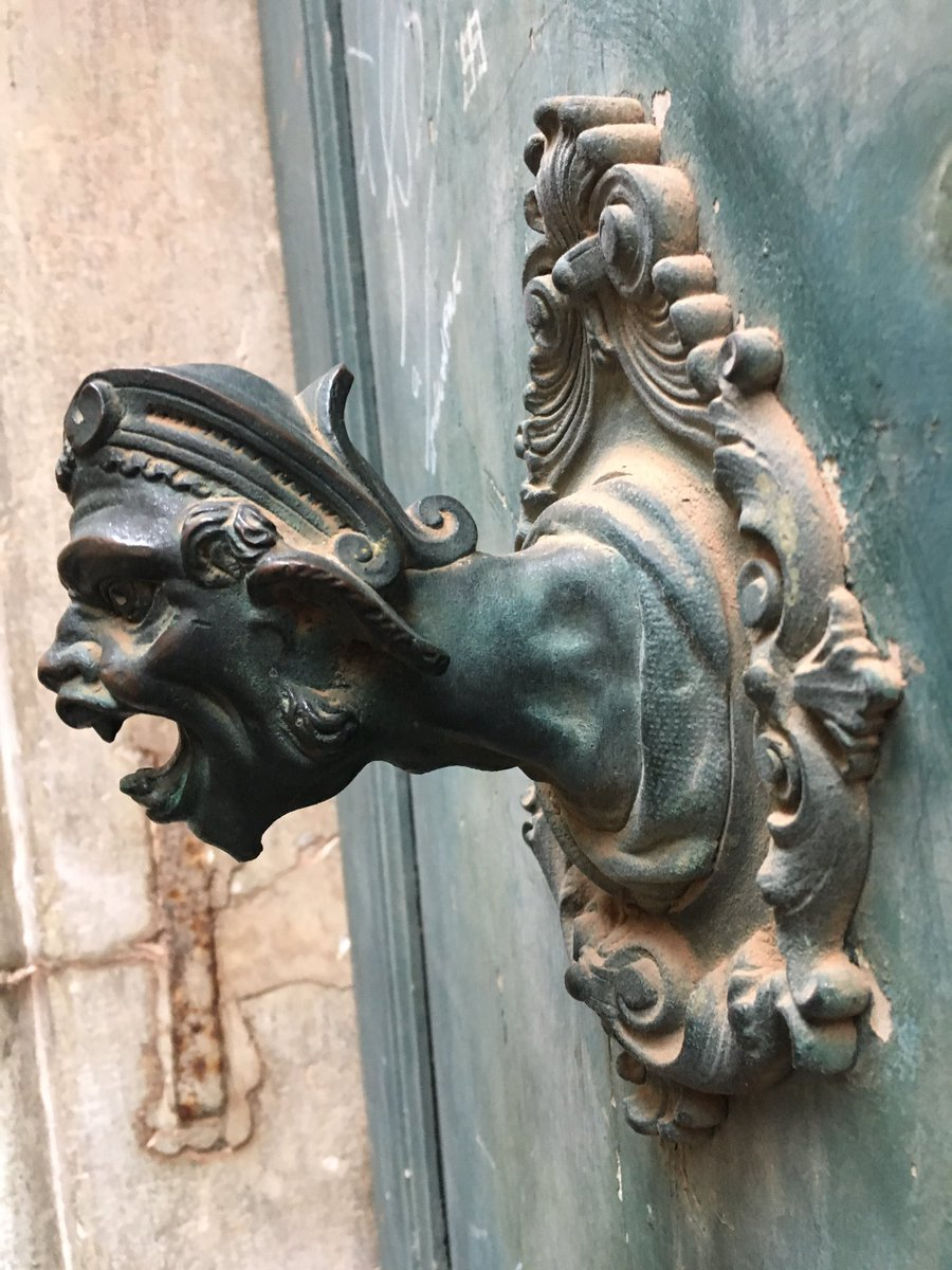 #Venice doorknob with anger management issues