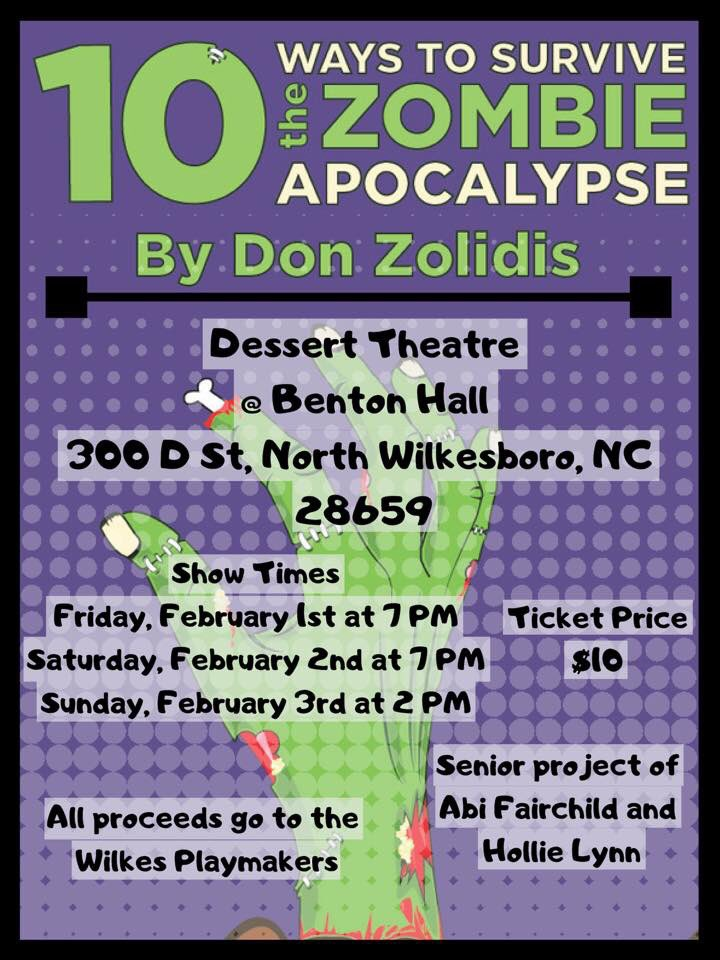 Tonight at 7! Doors open at 6 with desserts served before and after the show! @donzolidis