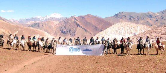 """Nuestro presidente @BazanJuan participará del """"Cruce Sanmartiniano de la Cordillera de los Andes"""" con el objetivo de fortalecer el liderazgo y la capacitación de los dirigentes para continuar fortaleciendo las instituciones Pymes.  #CruceDeLosAndes_CAME2019"""