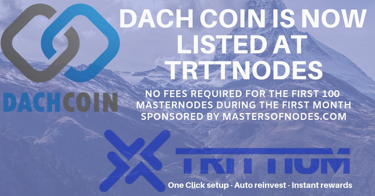 Dachcoin Limited On Twitter We Are Happy To Announce That Dachcoin