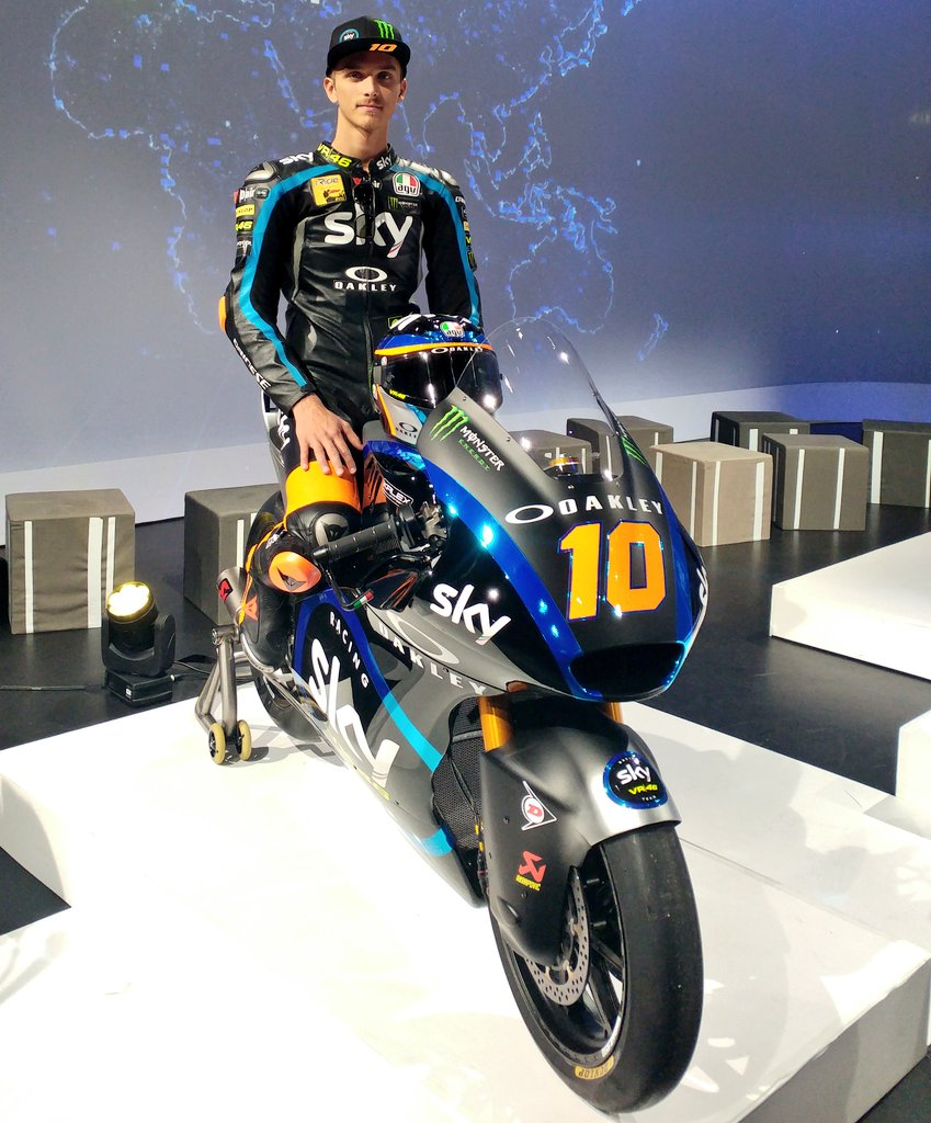 Luca Marini On Twitter Great Event At Sky Italia Hq New Livery But Same 2018 Approach Work Step By Step 10lm97 Skyvr46 Motogp Skyracingteam Motogp Vrridersacademy Https T Co Xur5umhisc