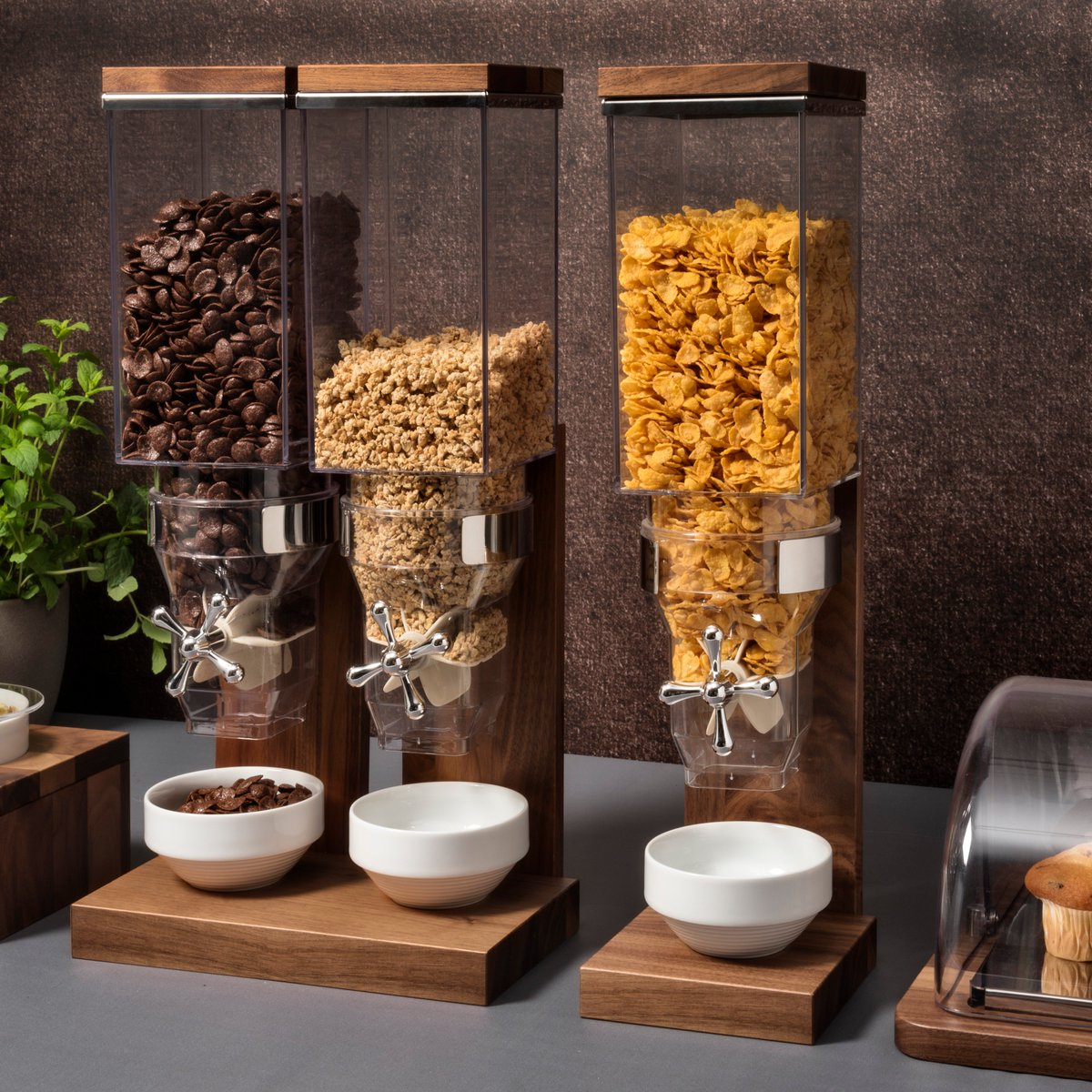 We now carry  zepe buffet  designing and crafting items for the breakfast buffet table, like juice and cereal dispensers, displays, trays and stands, as well as service trolleys. 100% made in Italy using only high quality materials having an excellent price-quality ratio. #zepe