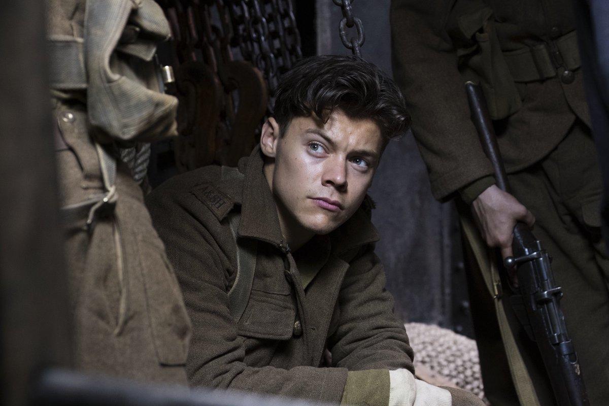 Happy birthday @Harry_Styles!   Seen here in his film debut #Dunkirk.