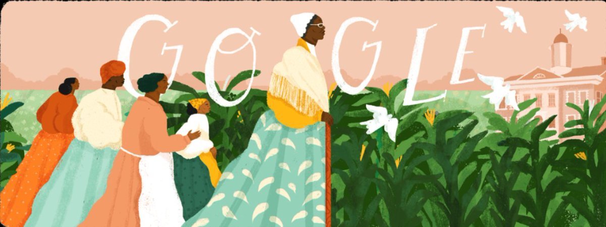 Today's #GoogleDoodle celebrates American abolitionist #SojournerTruth, who escaped from slavery & became an advocate for justice & equality . . #allographictees #allograph #allographsareeverywhere #GoogleDoodles #BlackHistoryMonth #BlackHistoryMonth2019 #BHM #BHM2019 https://t.co/cg4zFQaI9e