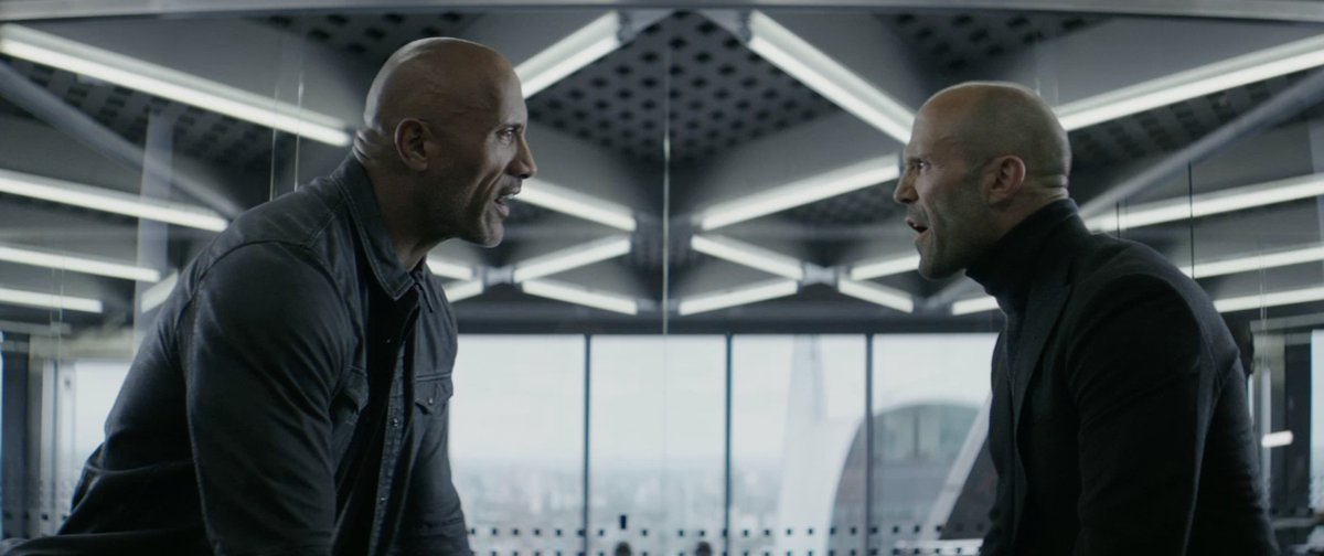 On August 2nd worldwide.  Me and my pasty asshole partner here go to work. Lucky me.  @HobbsAndShaw  @SevenBucksProd