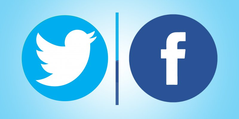 Facebook twitter — photo 2