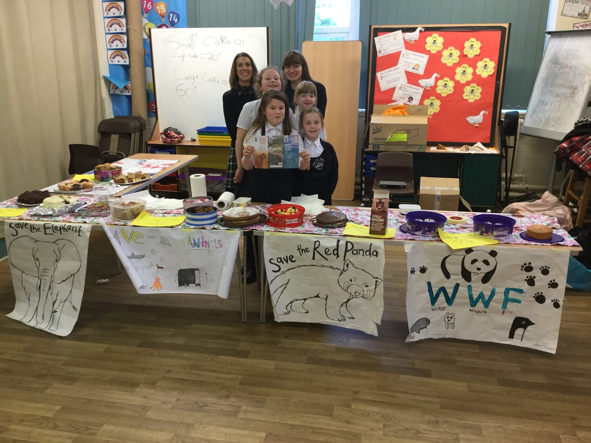 test Twitter Media - Bake sale @RomileyPS to raise funds for the fantastic @wwf_uk Thank you to our amazing children and parents for organising 🐼🐯🍰🍩👍 https://t.co/veFPNFibFS